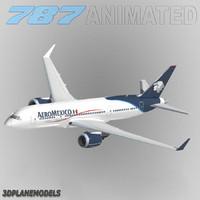 3ds b787-3 aeromexico