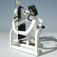PRECOR 310KS Seated Row Machine
