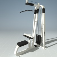 PRECOR 304HS Pull down Machine