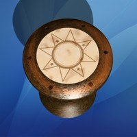 3d model darbuka drum