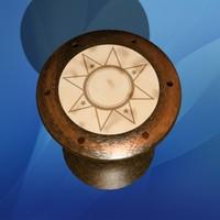 3d model darbuka drum