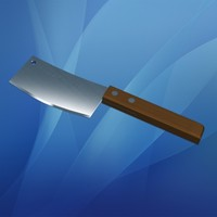3ds max meat cleaver