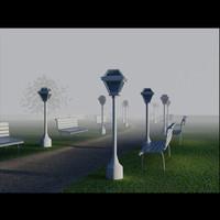 3d model park
