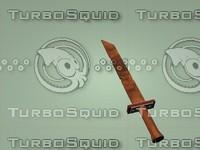 obj wooden sword
