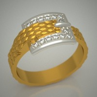 3d diamonds jewellery