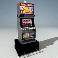 3d slot machine casino squares