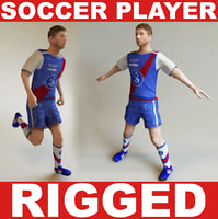 Soccer player ( RIGGED )
