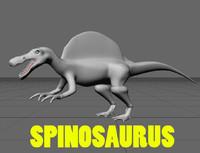 lightwave spinosaurus egypticus