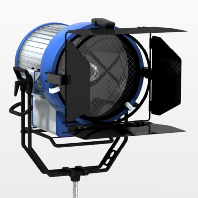 3d professional studio light arrisun - Arrisun - Professional Spotlight... by Artystarty