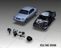 3d car - new explosion