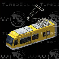 3d convoy electrico model