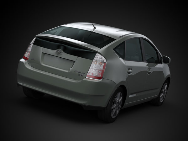 car architecture visualization 3d max - 2009 Toyota Prius... by ArchCars