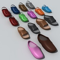 sandals clogs 3ds