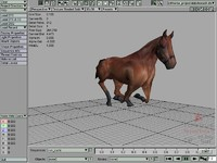 3d horse torque