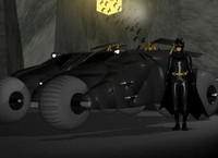 3d model batmobile tumbler