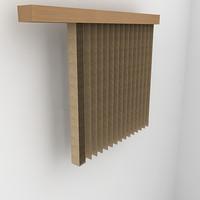 3dsmax vertical blind