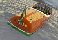 3d riva ariston 1970 model