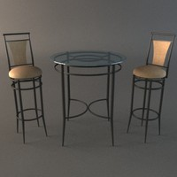 max bistro table chairs