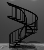 spiral staircase 3ds