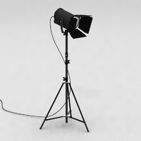 Stage light Spotlight Fresnel + Barndoors