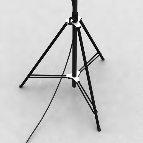 max fresnel barndoors stage light - Stage light Spotlight Fresnel + Barndoors... by InfinityStudio