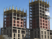 buildings construction 3d max