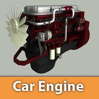 Generic 6 Cylinder Diesel Engine