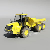 maya articulated truck