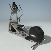 3d elliptical precor model