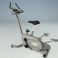 upright bike precor c842u 3d max