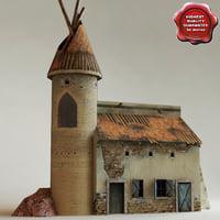 arab house v13 3d obj