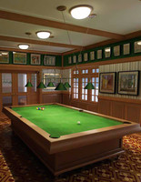 Billiard pool snooker Table