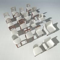Designer Chair Set Vol. 3