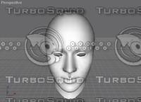 max humanoid head human