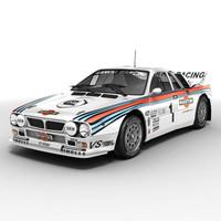 Lancia 037 rallycar