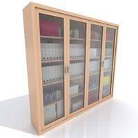 3d model large cabinet