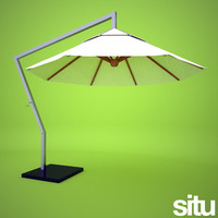 3d model contemporary parasol