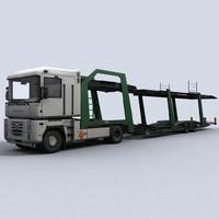 Car Transporter Truck 1