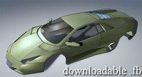 Imitation Lamborghini Reventon WIP 3