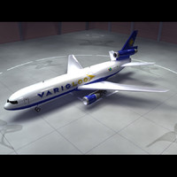 3ds dc-10 varig log 10