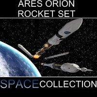 Ares Orion Rocket Set