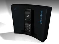 bt home hub 3d model