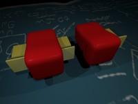 3d model dean connectors