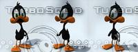 3dsmax cartoon duck