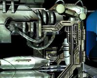 3d sci fi parts