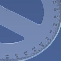 360-Degree Protractor