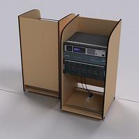 Portable PA Rack