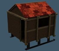 3d model house slay