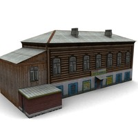 wood house x