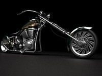max s classic chopper bike